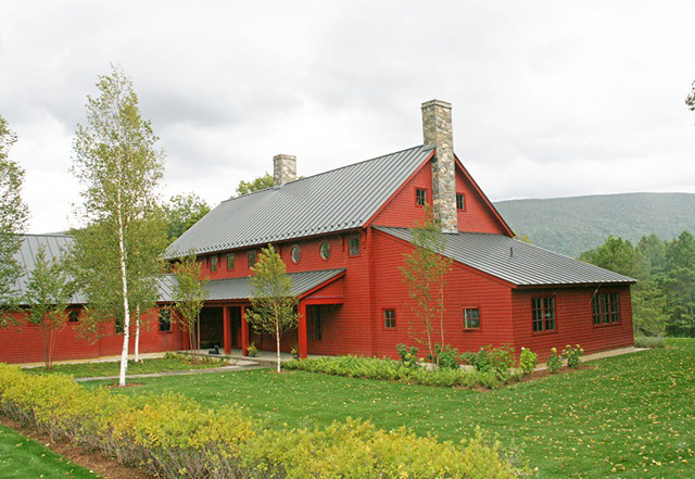 R p lowell architects rafe lowell priscilla lowell for Red barn houses